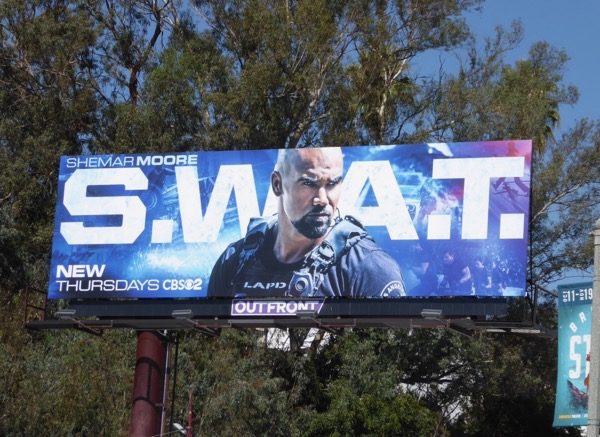 SWAT series premiere billboard