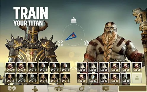 Dawn of titans Apk+Data Free on Android Game Download