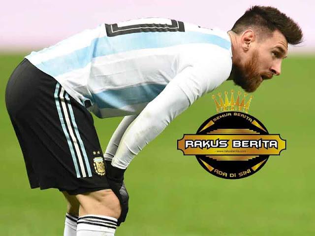 Messi Ubah Pola Makan Untuk Atasi Muntah Di Lapangan