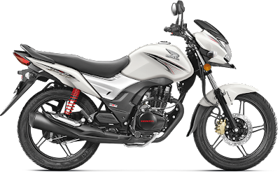 Honda CB Shine SP White side view Hd image