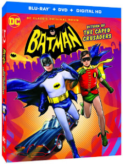Batman: Return of the Caped Crusaders Blu-Ray/DVD Cover