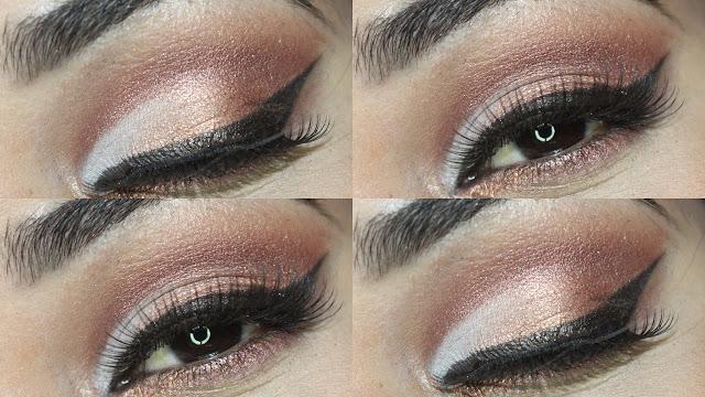 Maquiagem de outono inverno, tendência de maquiagem com cintilância