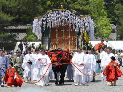 京都御苑・葵祭 牛車