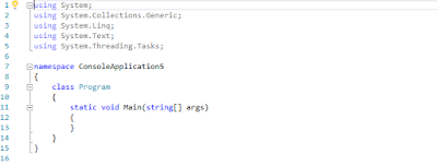 C# Console Application