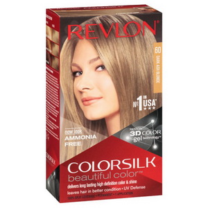 Kem Nhuộm Tóc Tự Nhuộm Revlon Colorsilk 3D Color Dark Ash Blonde Của Mỹ