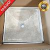Wastafel marmer tulungagung lengkung asli batualam ukuran 40 x 40cm