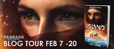 Island of Exiles Blog Tour - Review & Giveaway