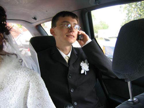 Даже на своей свадьбе Давыдов занимается делами