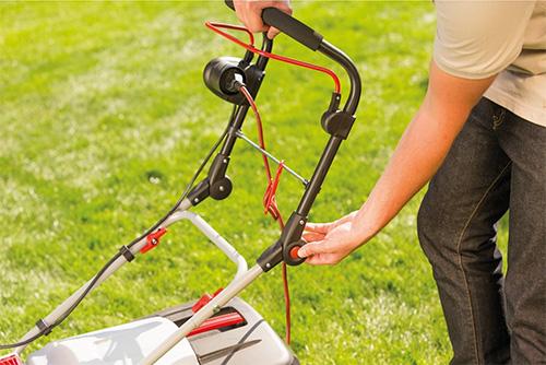 Réglages tondeuse à gazon électrique