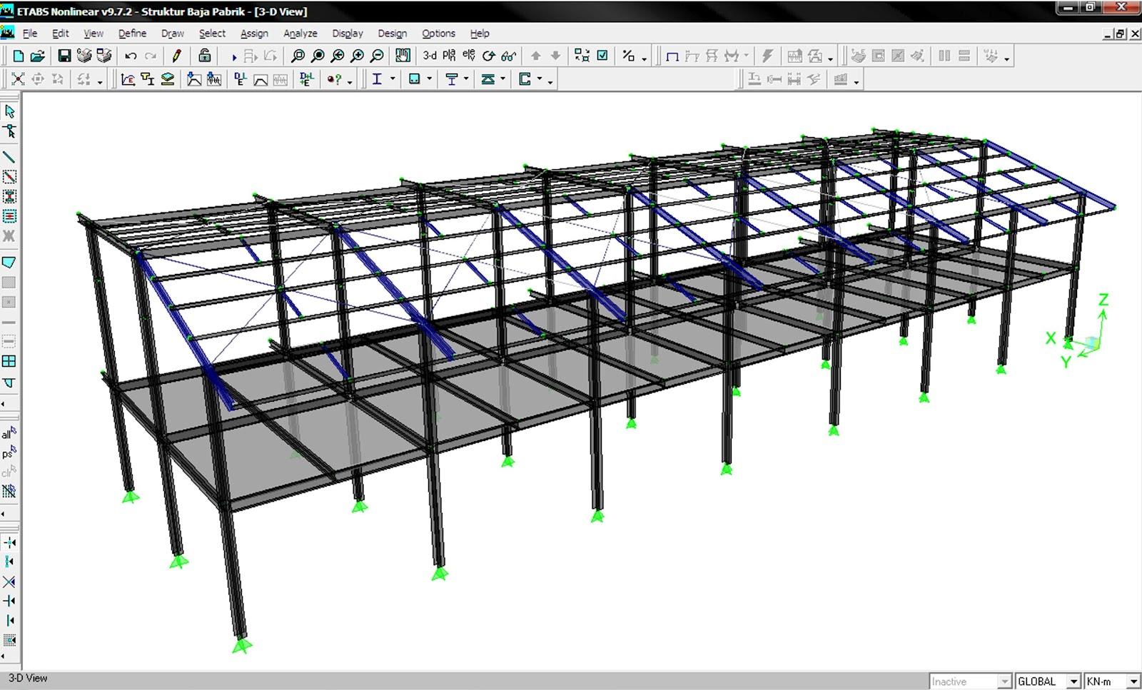 Contoh Perhitungan Konstruksi Gedung Bagian 1 Steemit