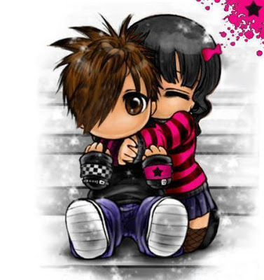 Gambar Emo Kartun Romantis Nusagates