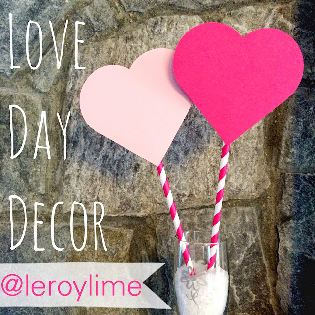 DIY Valentine Decorations on a Stick