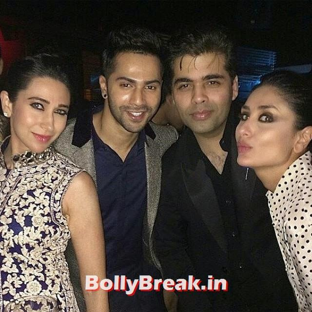 , Varun Dhawan & Kareena Kapoor Pics Together