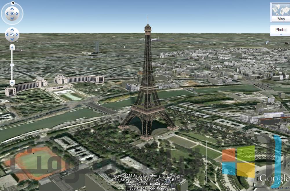 تحميل برنامج جوجل ايرث الأرض Google Earth للكمبيوتر وللموبايل