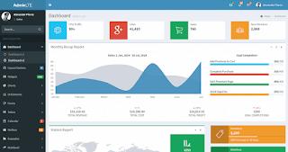 قالب لوحة تحكم جاهزه للمواقع التجارية  ,تحميل لوحة التحكم Admin Control Panel مجانا + شفرة المصدر ...لمن يريد لوحة تحكم للمواقع التجارية هي أفضل لوحة تحكم مشرف مفتوحة المصدر .   بنيت Bootstrap 3 ، يوفر AdminLTE مجموعة من المكونات سريعة الاستجابة والقابلة لإعادة الاستخدام والمستخدمة بشكل شائع.  AdminLTE Control Panel Template ...