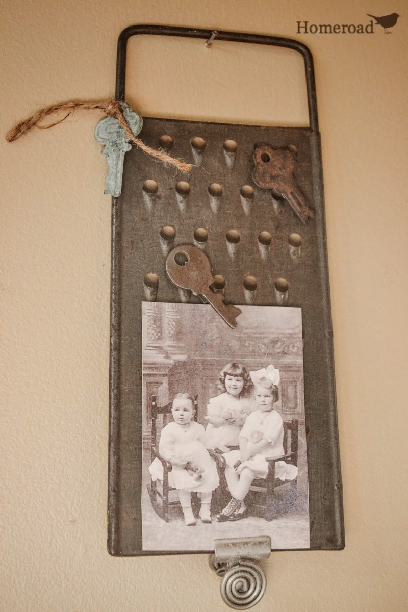 Vintage Kitchen Tool Photo Holders