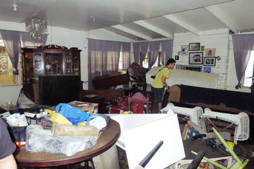 habagat rain, habagat flood, house baha