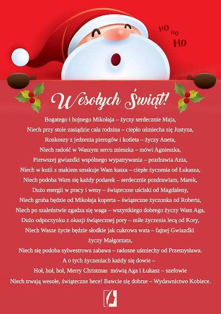 Wydawcy życzą Wesołych Świąt!