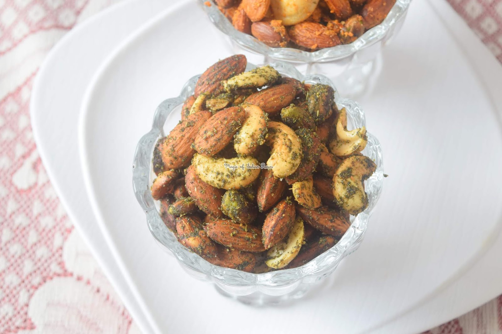 Masala Mint & Italian Herbs & Cheese Flavoured Dry Fruits Recipe - 3