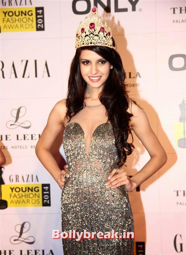 Koyal Rana, Hottest Celebs of Bollywood at Grazia Young Fashion Awards 2014