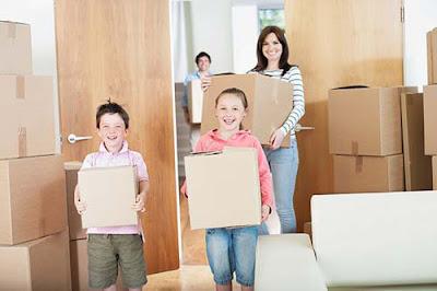 Bạn có thể cho trẻ tham gia vào quá trình chuyển nhà