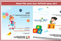 Modul PKB untuk Guru TK/PAUD tahun 2018