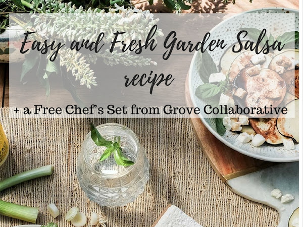 Easy and Fresh Garden Salsa recipe