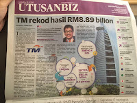 TM Rekod Hasil RM8.89 Billion 2017