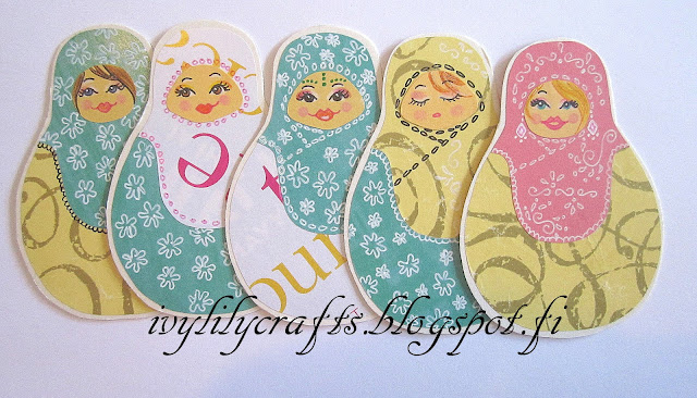 russian doll bookmarks