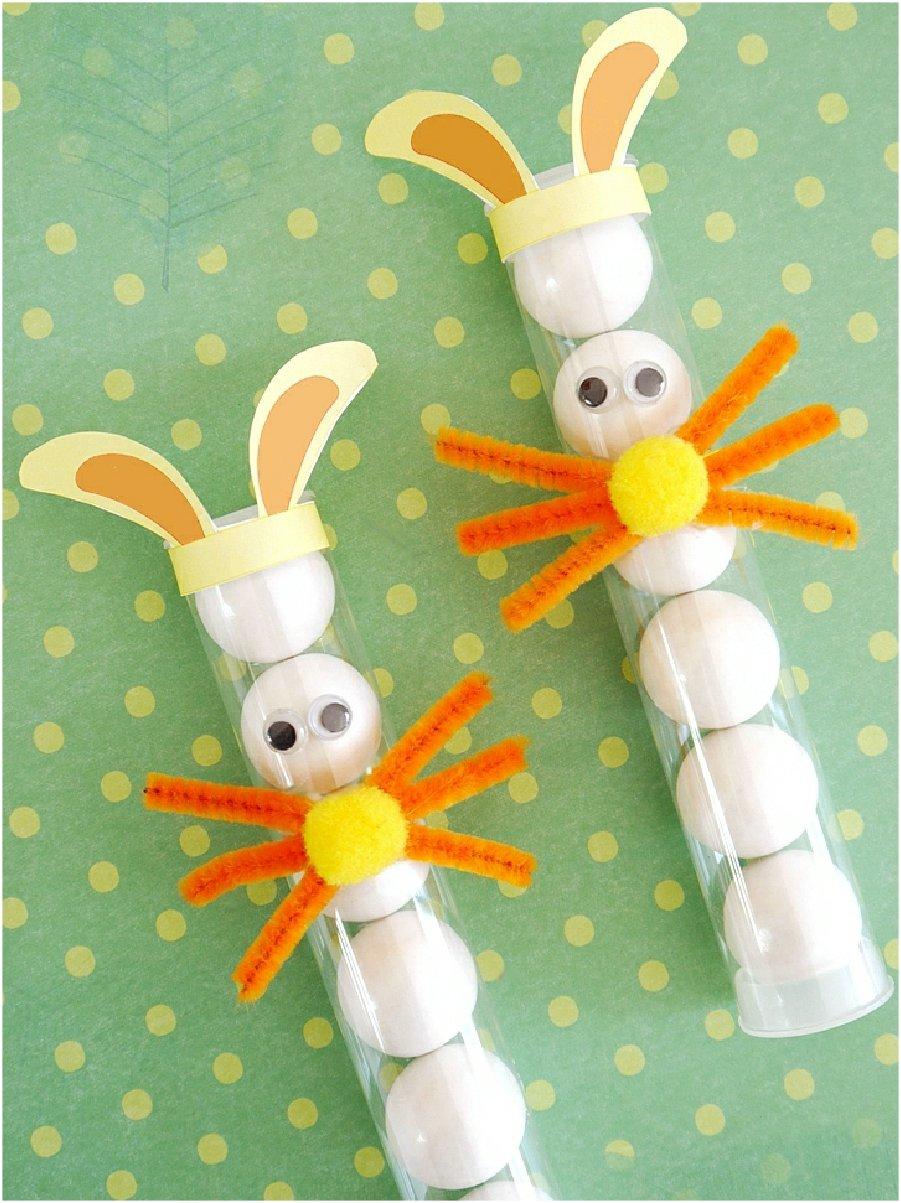 DIY Tubes à Bonbons Lapin