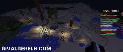 Automatic Battle System Rival Rebels Minecraft Mod