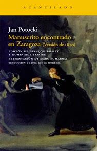 Manuscrito encontrado en Zaragoza, de Jan Potocki.
