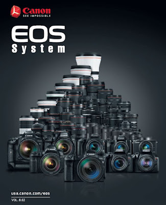 Canon EOS Camera System PDF Brochure Vol 8.02 Download