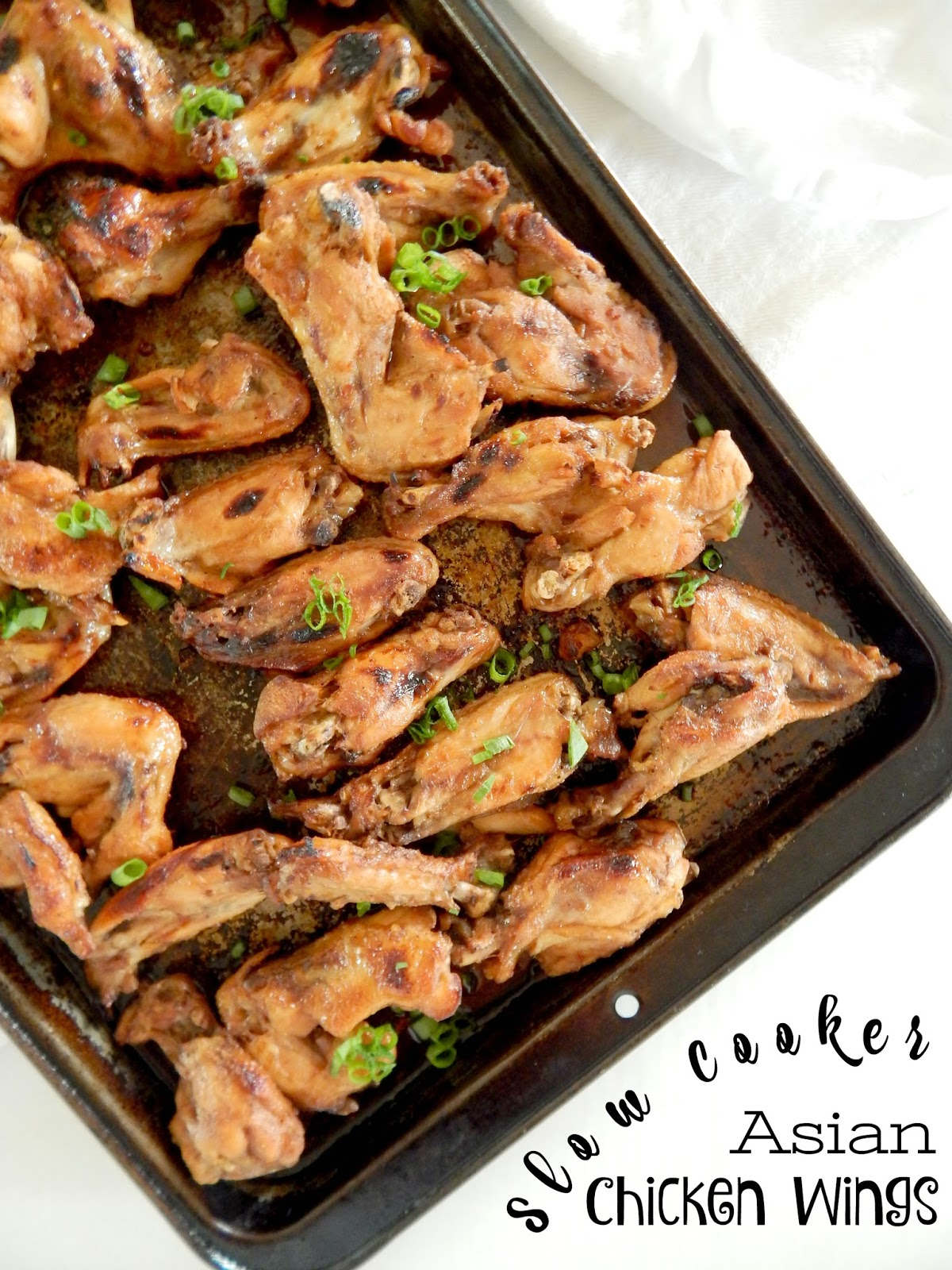 Ally 39 s sweet and savory eats slow cooker asian chicken wings for 7 spices asian cuisine