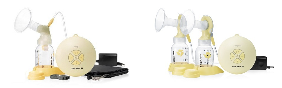 The Medela Swing and the Medela Swing Maxi