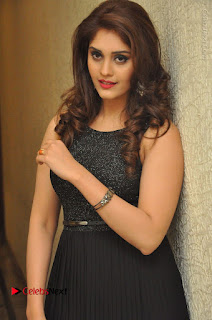 Actress Surabhi Stills in Black Long Dress at turodu Audio Launch  0027.JPG