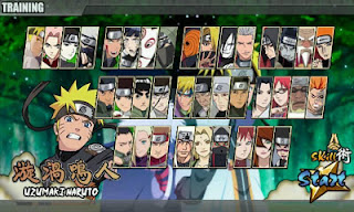 Download Gratis Game Android Naruto Senki Mod Road To Ninja All Characters Opened Versi Terbaru (v1.22)
