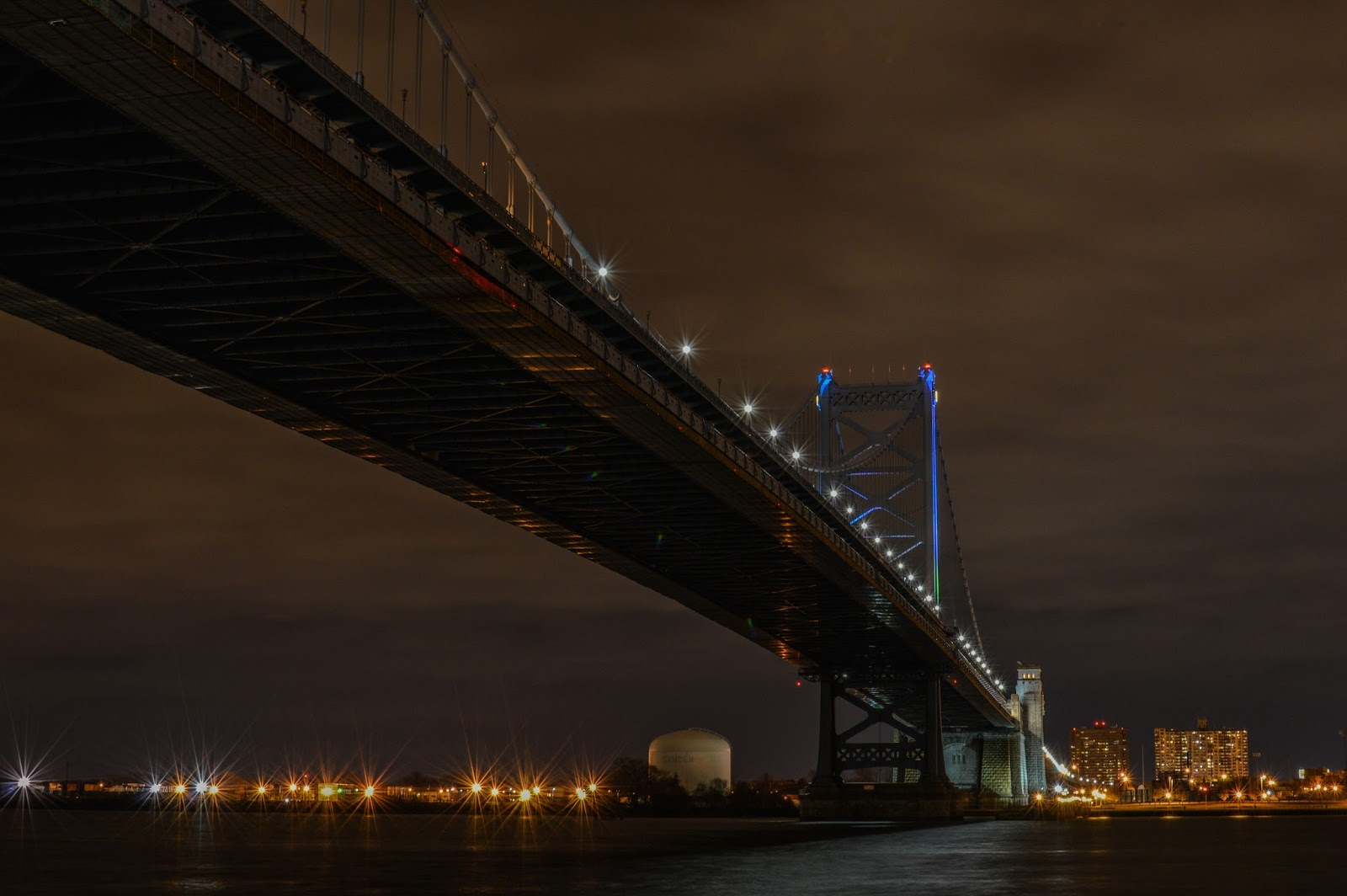 Ben Franklin Bridge.