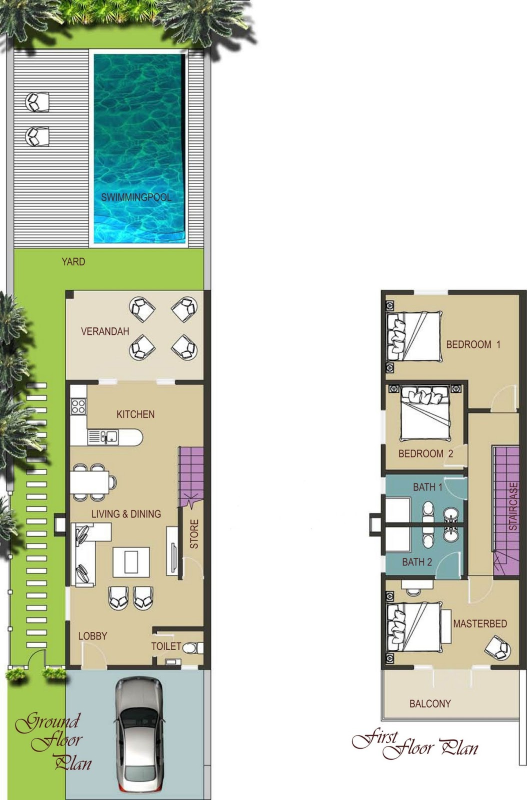 Interesting Plan Dune Villa Marocaine Plan Maison Jumelee E E L With Plan  De Maison Plain Pied M With Plan De Maison Plain Pied 120m2