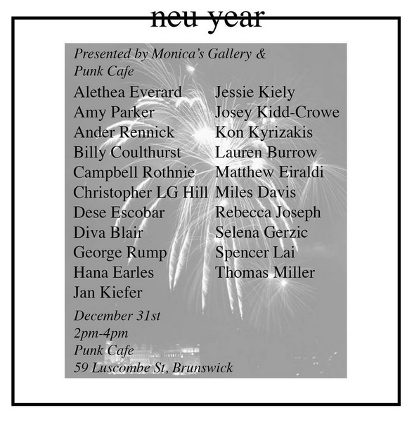well as untitled: neu year at Punk Cafe