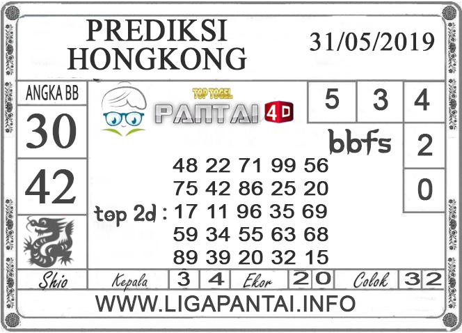 """Prediksi Togel """"HONGKONG"""" PANTAI4D 31 MEI 2019"""