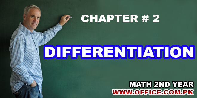 ch 2 differentiation 2nd year math ics fsc