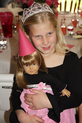 Cynde S Place American Girl Spa Birthday Party