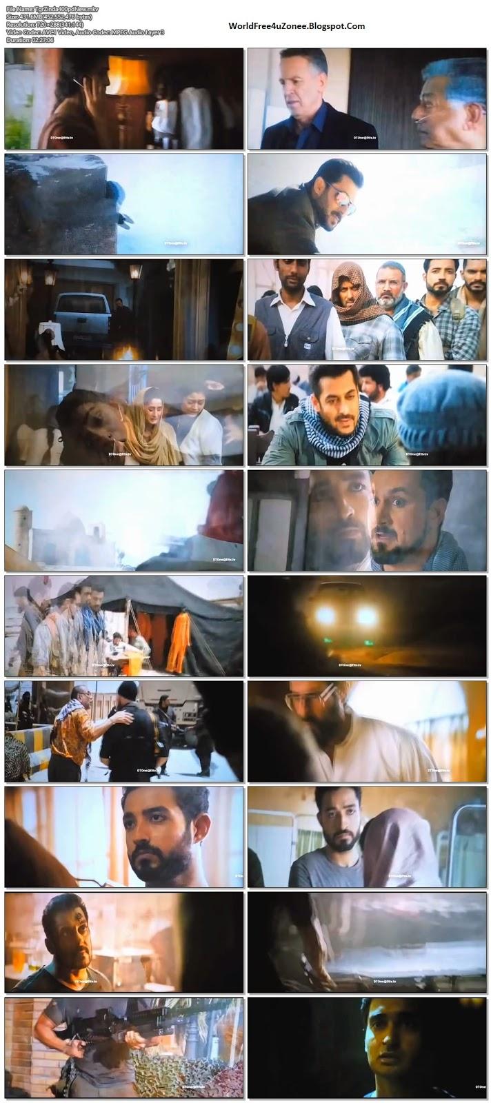 Tiger Zinda Hai (2017) Hindi Pre-DVDRip 480p 400MB Full Movie Free Download And Watch Online Latest Bollywood Hindi Movies 2017 Free At WorldFree4uZonee.Blogspot.Com