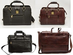 Flat 66% OFF on Chanter Genuine Leather 14/15 inch Expandable Laptop Bags