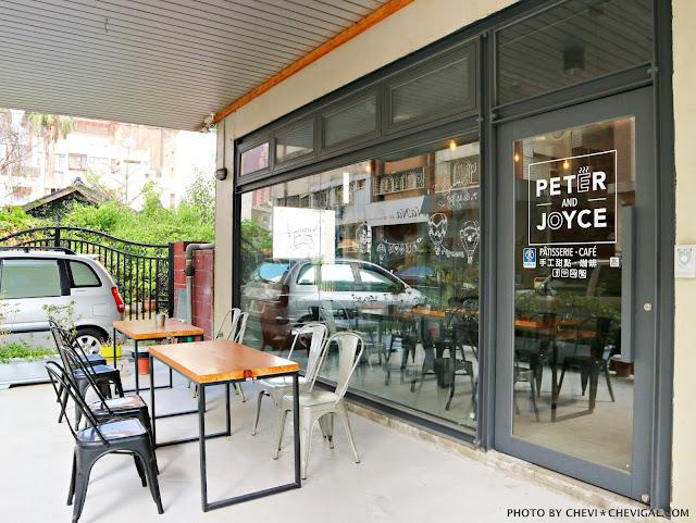 IMG 2969 - 台中西區│p&j's pâtisserie 。平價法式甜點推荐。海洋風雙色淋面的檸檬慕絲好夢幻
