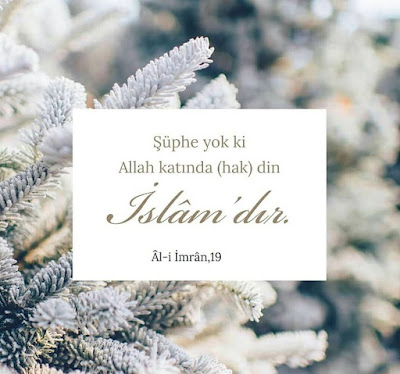 islam, hak din islam, din islam, yegane din islam, ali imran 19, ayet, Kur'an, Kur'an-ı Kerim, sure, kış resmi, zemin