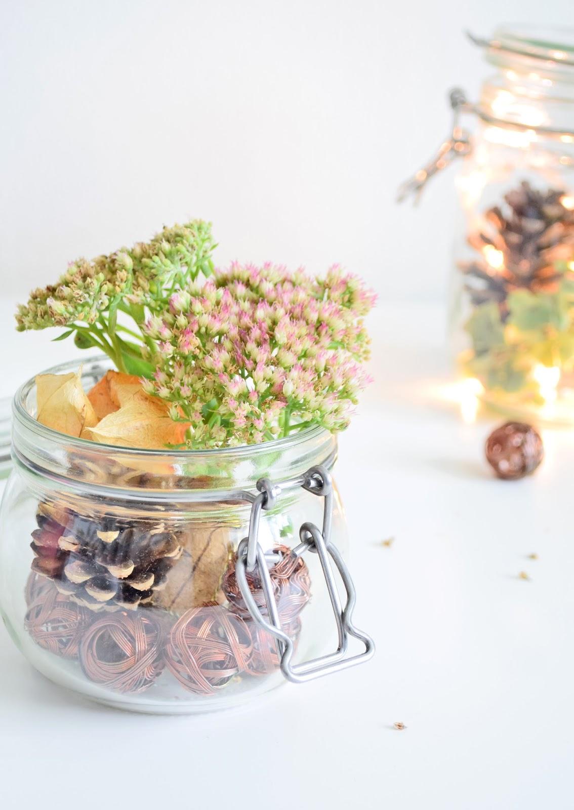 Z czego można zrobić dekorację na jesień?