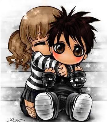 Naruhina chibi love by inulover411 on DeviantArt  |Chibi Love Anime