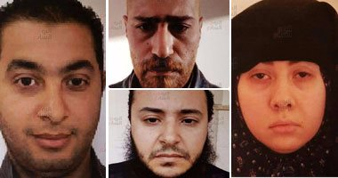 الإرهابيين المتورطين فى حادث التفجير